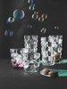 BUBBLES - Набор стаканов 4 шт. высоких 390 мл бессвинцовый хрусталь