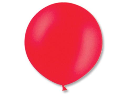 Большой воздушный шар красный