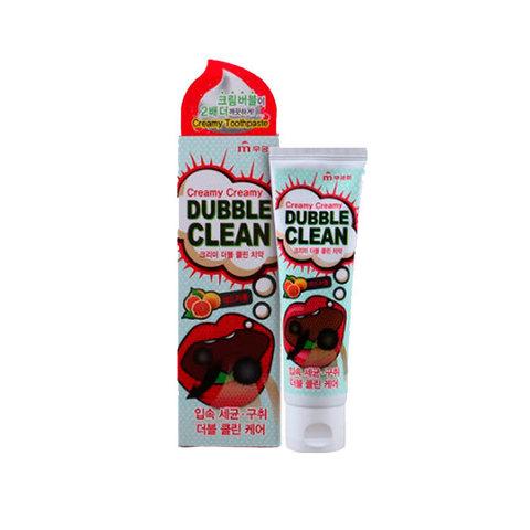 Кремовая зубная паста Mukunghwa с очищающими пузырьками и экстрактом красного грейпфрута 110 гр