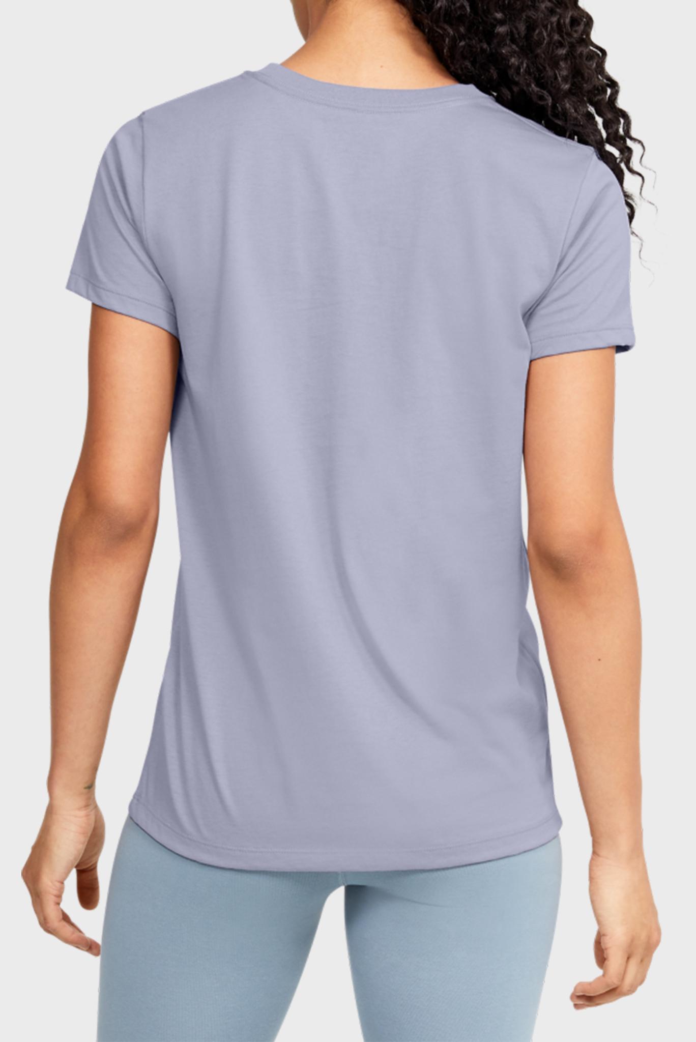 Женская сиреневая футболка GRAPHIC SPORTSTYLE CLASSIC CREW-PPL Under Armour