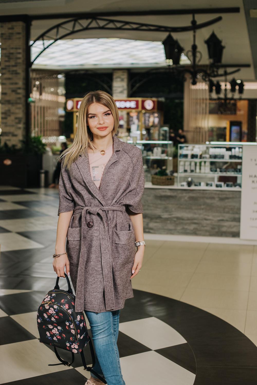 Женское пальто из варенной шерсти без подклады