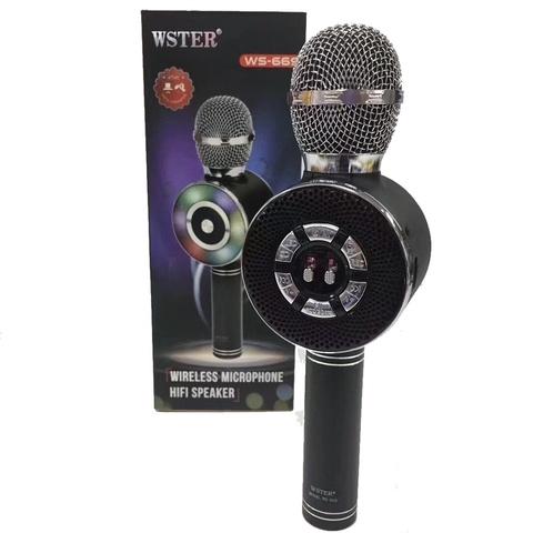 Караоке микрофон с колонкой
