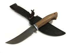 Нож Скинер, дамасская сталь, рукоять венге