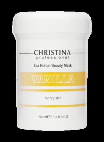 Christina Маска красоты на основе морских трав для сухой кожи «Ваниль»  | Sea Herbal Beauty Mask Vanilla for dry skin 250ml