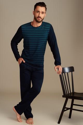 Пижама мужская со штанами LISCA HYPNOS 35020