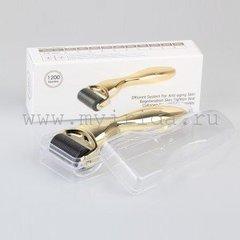 Мезороллер сменный валик TM DRS Gold 1200 титановых игл. Широкий валик