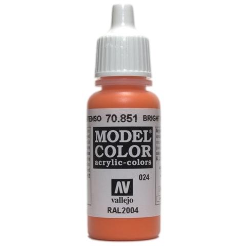 Model Color Bright Orange 17 ml.