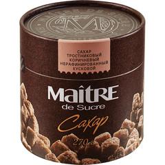 Сахар кусковой Maitre de Sucre тростниковый 270 г