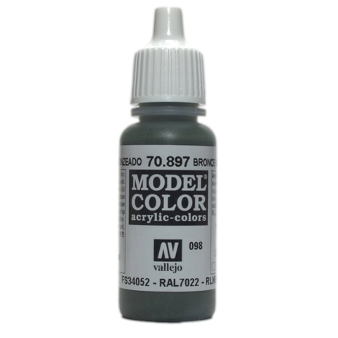 Model Color Bronze 17 ml.