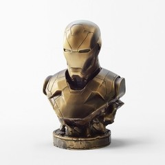 Бронзовый бюст «Железный человек»