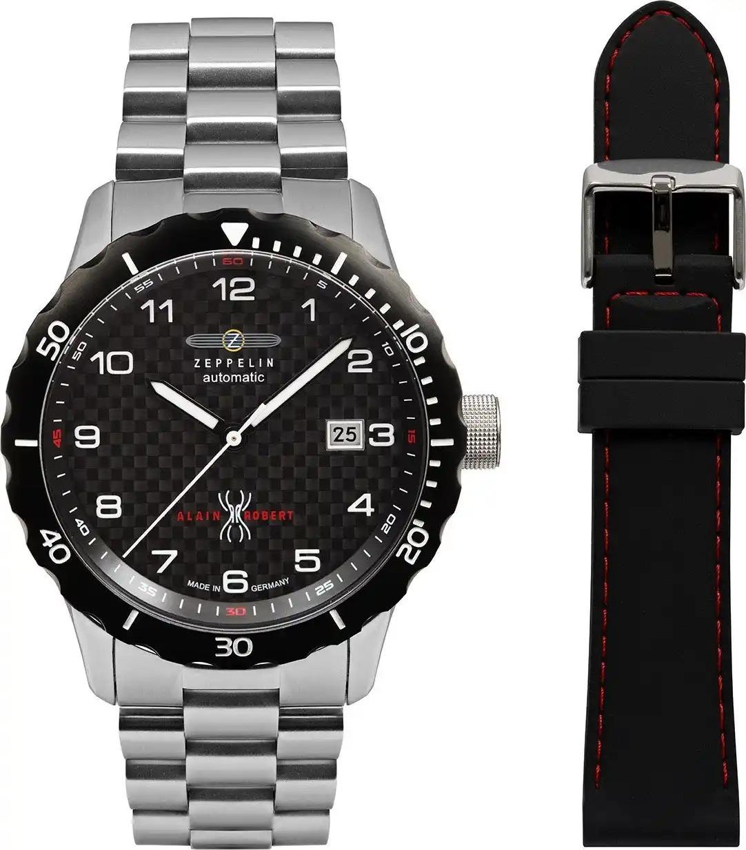 Мужские часы Zeppelin Limited Edition + ремешок 72662_set