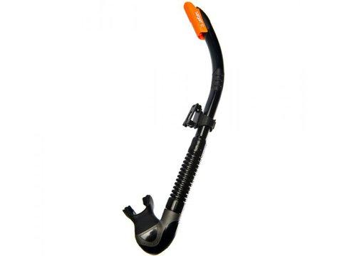 Трубка для подводной охоты сарган бетта черный силикон