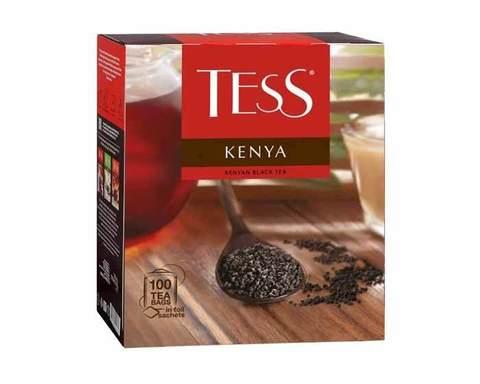 Чай черный в пакетиках Tess Kenya 100 пак/уп, 2 г