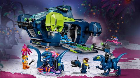 LEGO Movie 2: Рэксследователь Рэкса 70835 — Rex's Rexplorer! — Лего Муви Фильм