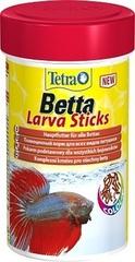 Корм в форме мотыля для петушков и других лабиринтовых рыб, TetraBetta LarvaSticks