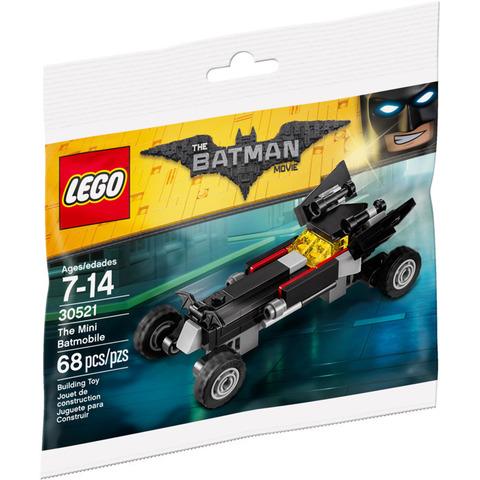 LEGO Batman Movie: Мини Бэтмобиль 30521 — The Mini Batmobile polybag — Лего Бэтмен Муви