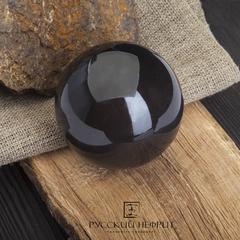 Шар из черного нефрита 45 мм.