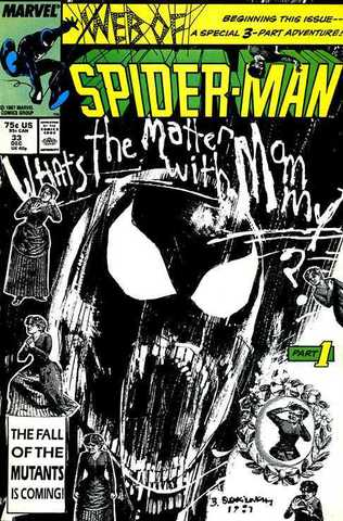 Web of Spider-Man #33. What's The Matter With Mommy?