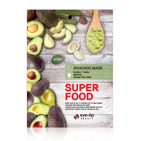 Тканевая маска Eyenlip Super Food Avocado Mask