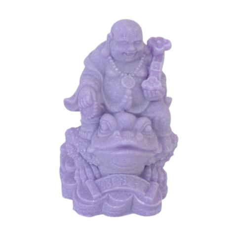 Хотей фиолетовый на жабе