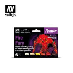 Model Color Set: Fire Fury - Fantasy Color Series