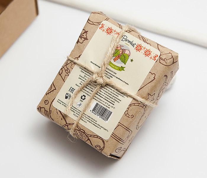 RAZ294 Дегтярное мыло для тела Бородист «BIRCH-TAR» (90 гр) фото 03