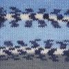 Пряжа YarnArt Crazy Color 134   (Синий, голубой, белый, серый)