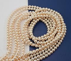 5810 Хрустальный жемчуг Сваровски Crystal Creamrose круглый 6 мм, 5 штук