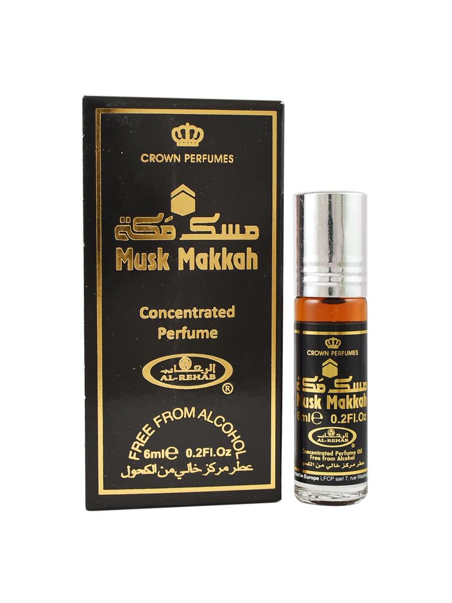 Musk Makkah 6 мл арабские мужские масляные духи от Аль Рехаб Al Rehab