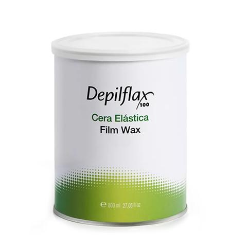 Горячий плёночный воск в банке Depilflax 100 Film Wax, 800 гр