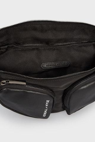 Женская черная поясная сумка MIA Kendall + Kylie