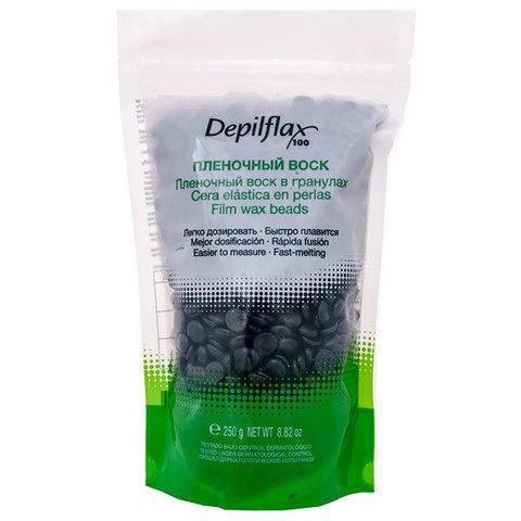 Воск Пленочный в гранулах 250 гр, Depilflax Черный