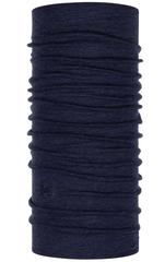 Элитная мультибандана с шерстью BUFF® Midweight Merino Wool Night Blue Melange