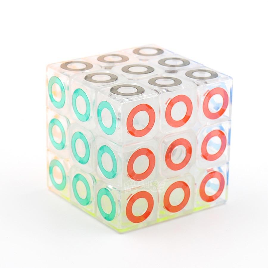 Скоростной Кубик Рубика Magic Cube прозрачный