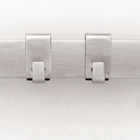 Рейлинг, 40 см, с 5 крючками, арт. 460029 - фото 1