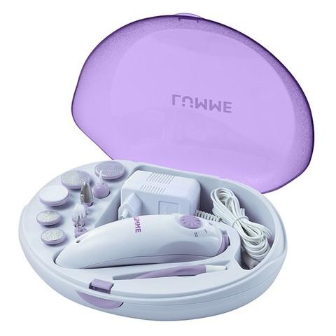 Набор для маникюра и педикюра LUMME LU-2403 фиолетовый аметист