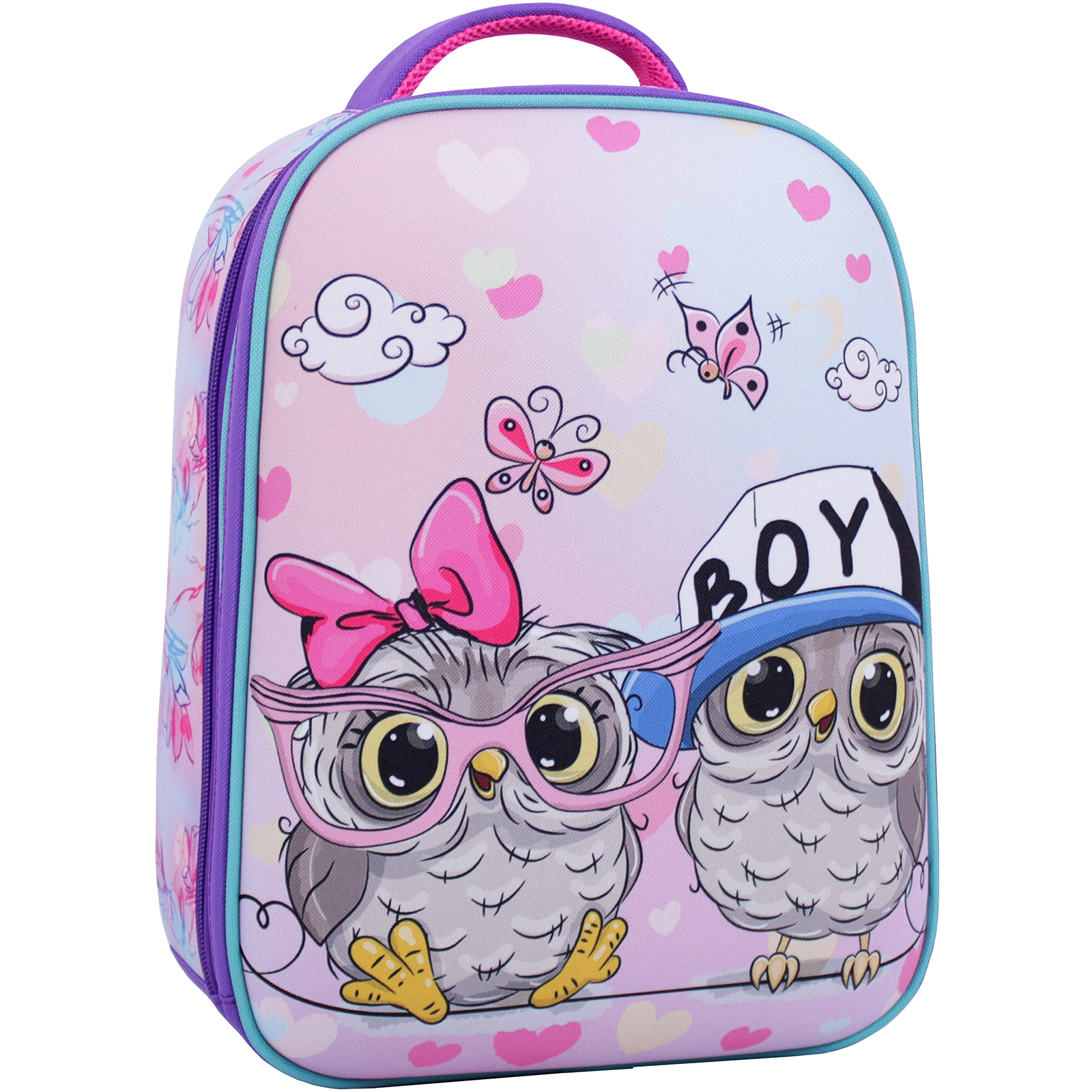 Школьные рюкзаки Рюкзак Bagland Turtle 17 л. фиолетовый 515 (0013466) IMG_1748_суб.515_.JPG