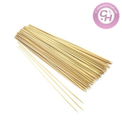 Бамбуковые палочки шпажки для декора, 20 см, 80-90 шт.