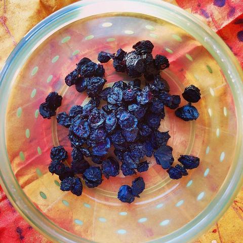Голубика, ягода сушёная