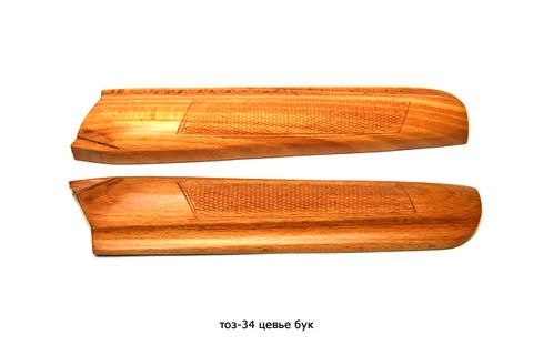 Цевье ТОЗ-34 и ТО3-34Е бук