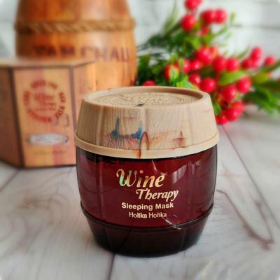 Ночная маска с красным вином Holika Holika Wine Therapy Sleeping Mask