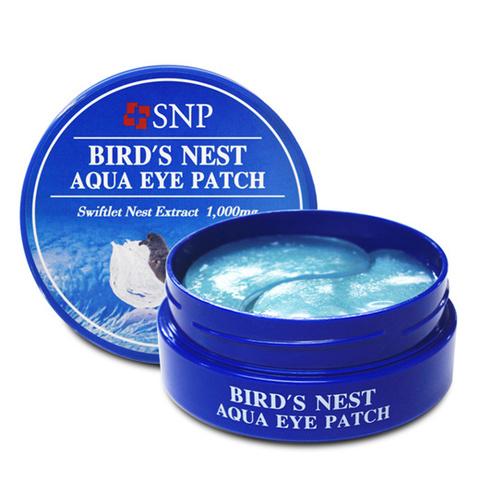 SNP Bird`s Nest Aqua Eye Patch 1.4g*60ea