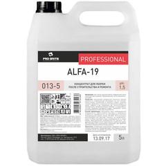 Средство для уборки после строительства и ремонта Pro-Brite Alfa-19 5 л (концентрат)
