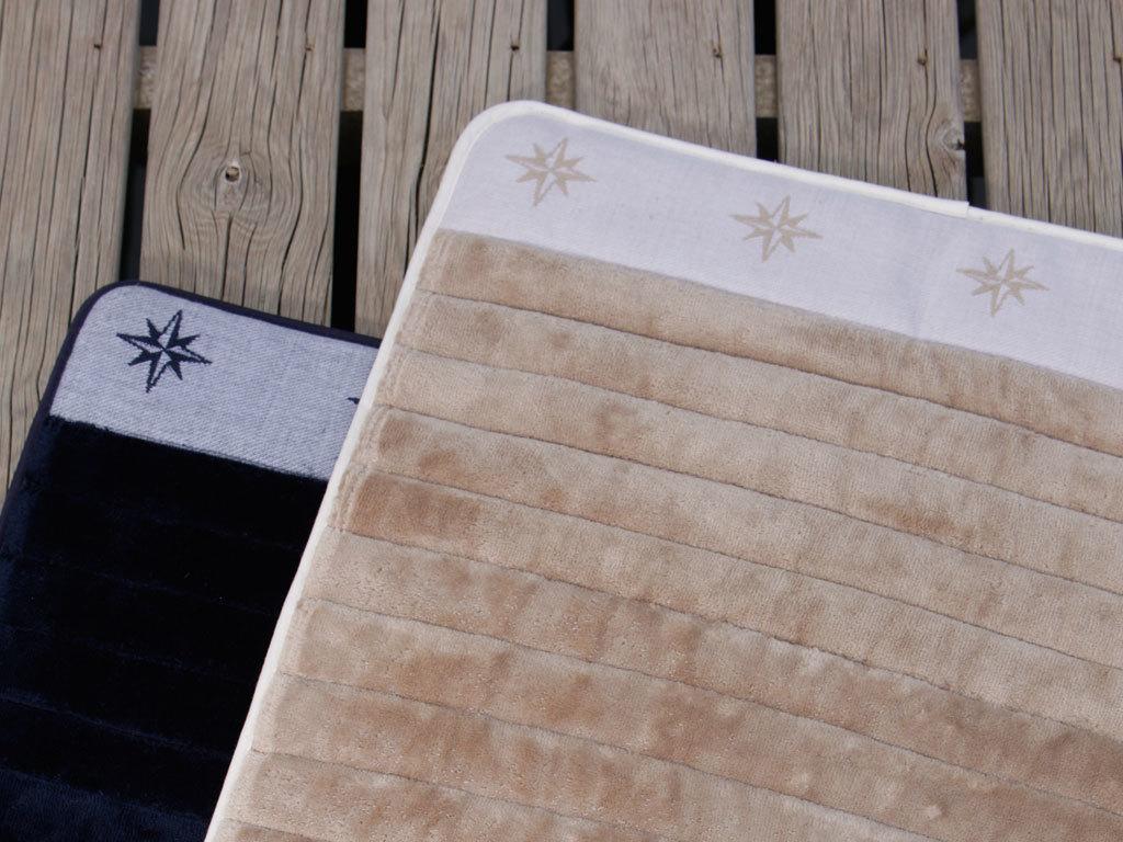 Freestyle beige non-slip bathmat 60×45