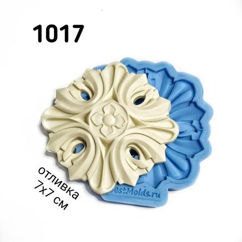 1017 Молд силиконовый. Накладка мебельная.
