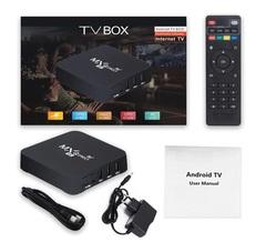 Смарт ТВ приставка MXQ Pro 5G wi-fi 2.4 и 5.0 GHz Андроид 10.1