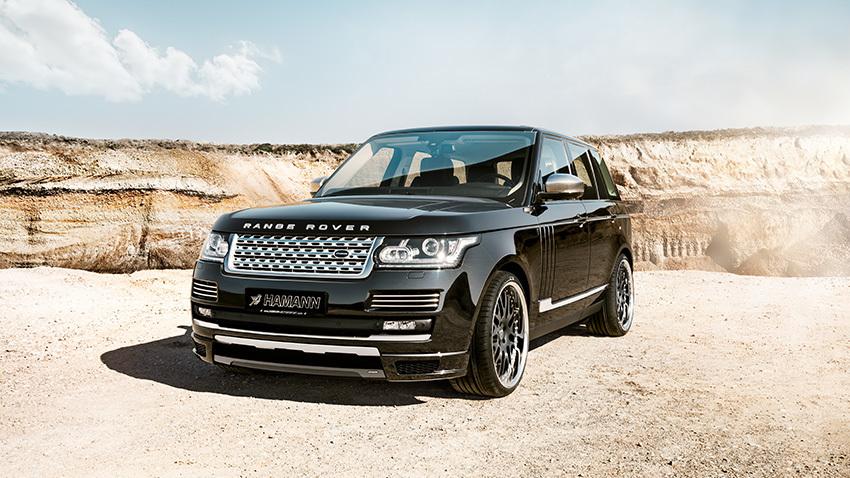 Обвес Hamann для Range Rover