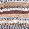 Пряжа YarnArt Crazy Color 158  (Белый, беж, коричневый,серый)