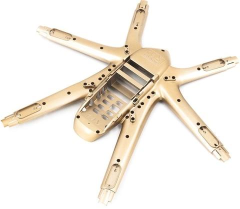Нижняя часть корпуса (золотой) для квадрокоптера MJX X601H - MJX-601H02