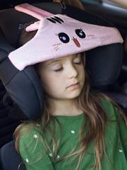 Фиксатор головы ребенка для автокресла Кошка с доп.креплением